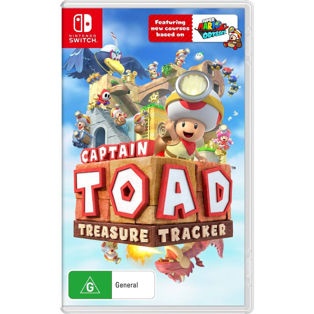 Captain Toad Treasure Tracker Game Character Design Nintendo Switch Games Nintendo Switch