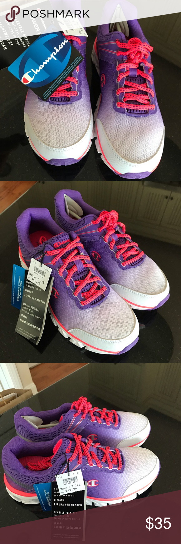 de396d67986 Champion Brand NWT Awesome Ombre Size 7-1 2 Champion Brand NWT Awesome  Purple