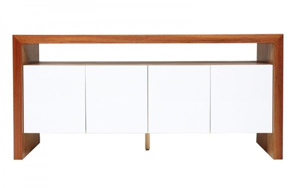 Archer Buffet Blackwood/White | OZ Design Furniture U0026 Homewares