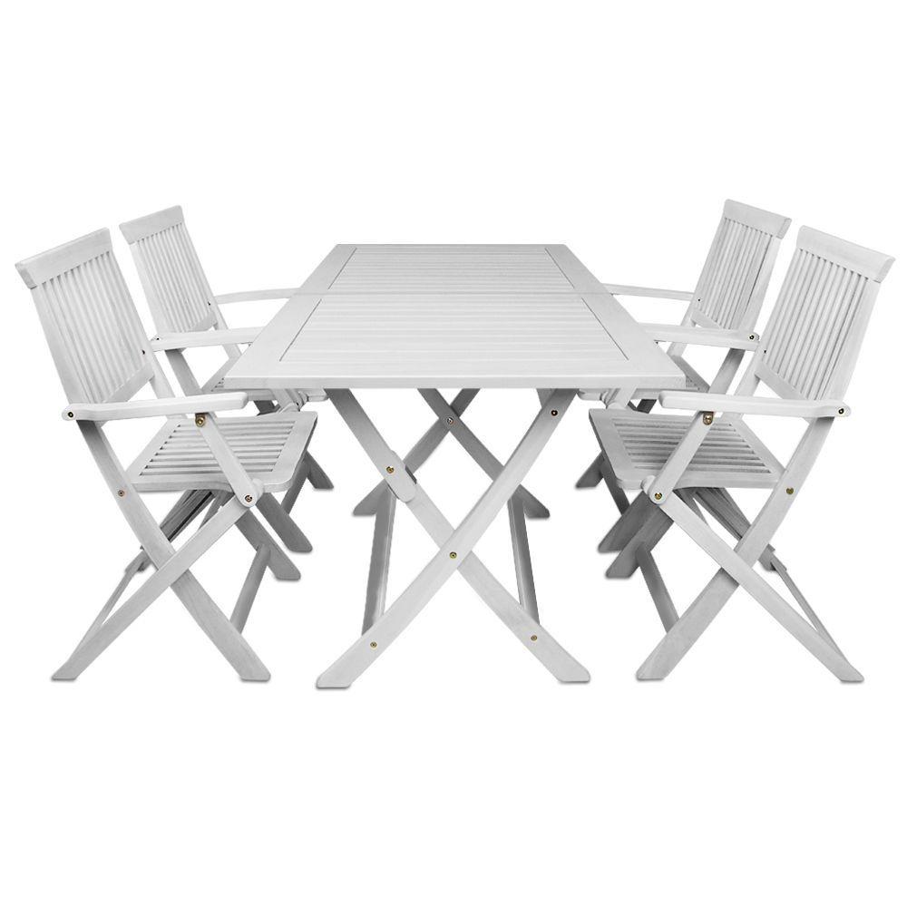 details zu gartenm bel eisenm bel sitzgruppe tisch und zwei st hle weiss gartengarnitur neu. Black Bedroom Furniture Sets. Home Design Ideas