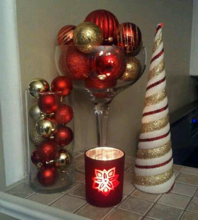 Simple Holiday Decor From The 99 Cents Store And Dollar Tree