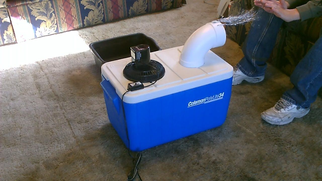 Homemade Air Conditioner Diy Awesome Air Cooler Easy