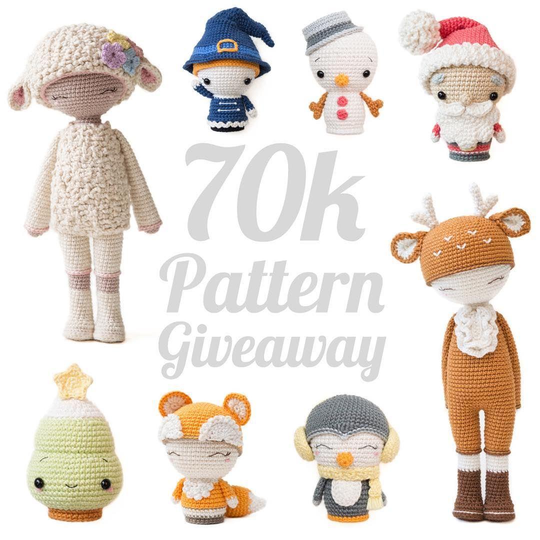 Crochet Madness Instagram Challenge (+ Free Patterns) - Sweet ... | 1080x1080
