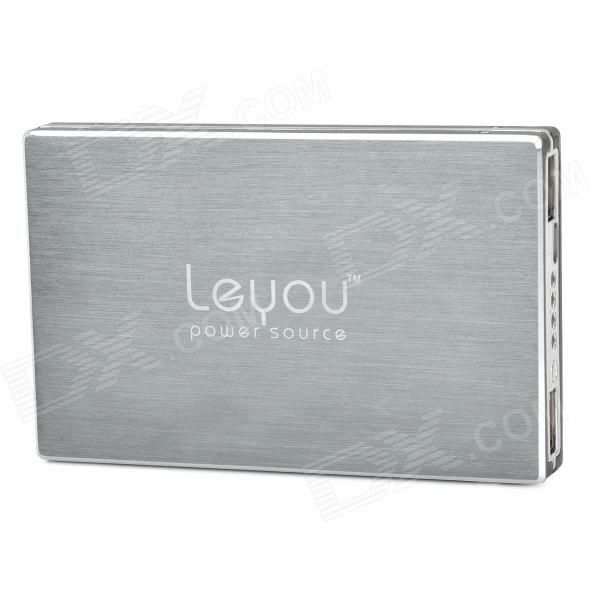 LYEOU LY-980 12800mAh Power Bank External Battery Charger for Cell Phone / Tablet PC - Black