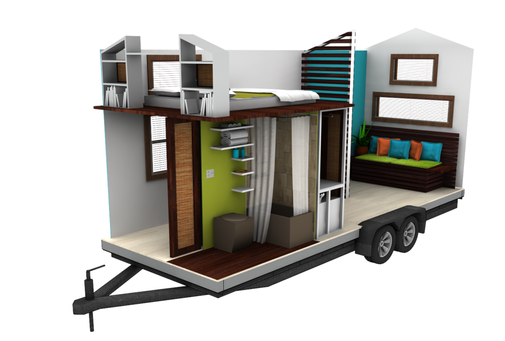 Tropical Tiny House Plan has arrived  house plans