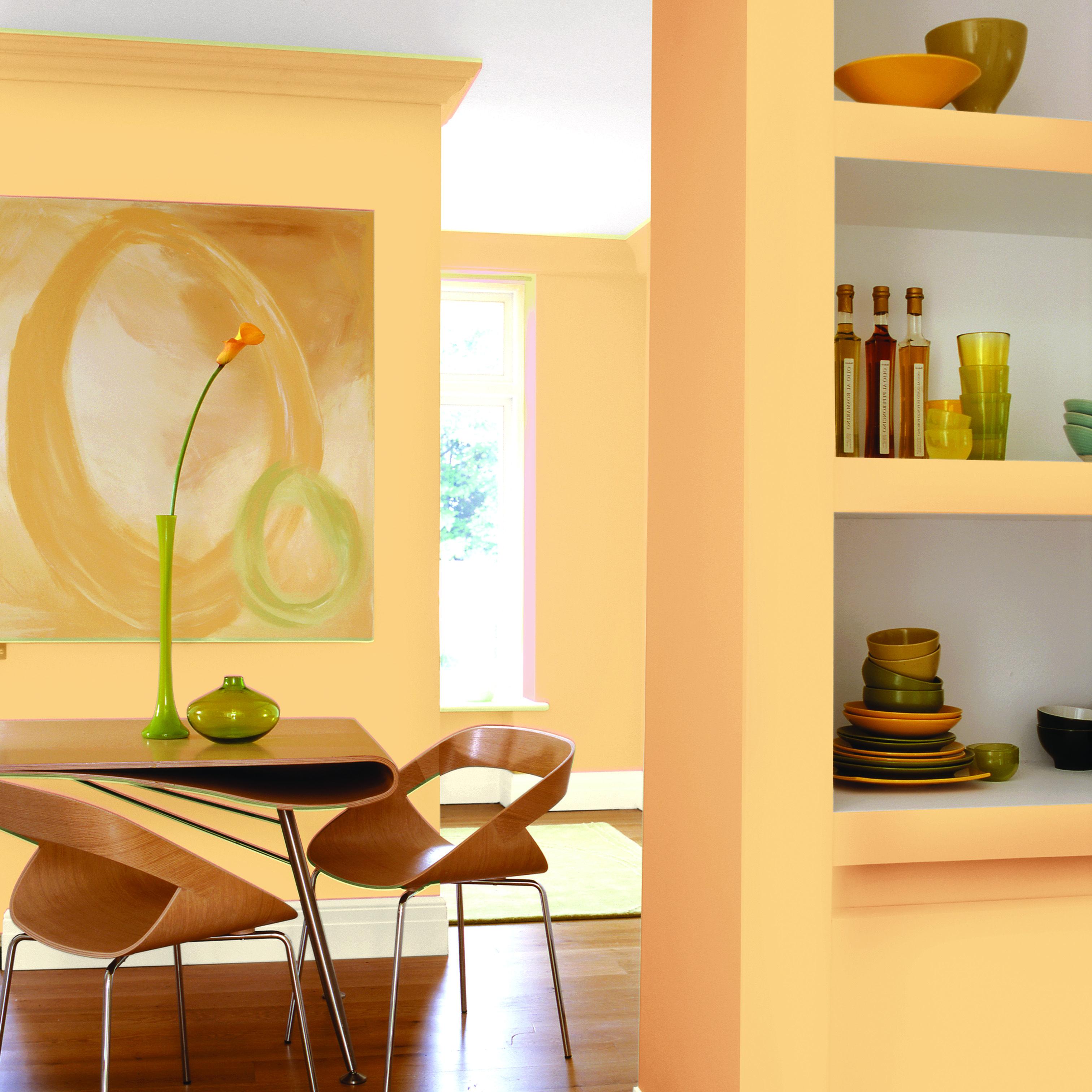 Color ocre para paredes great esttico de color de - Color ocre paredes ...