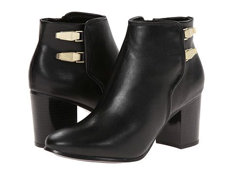 Calvin Klein Ahlam Black Calf/Cow Kansas - 6pm.com