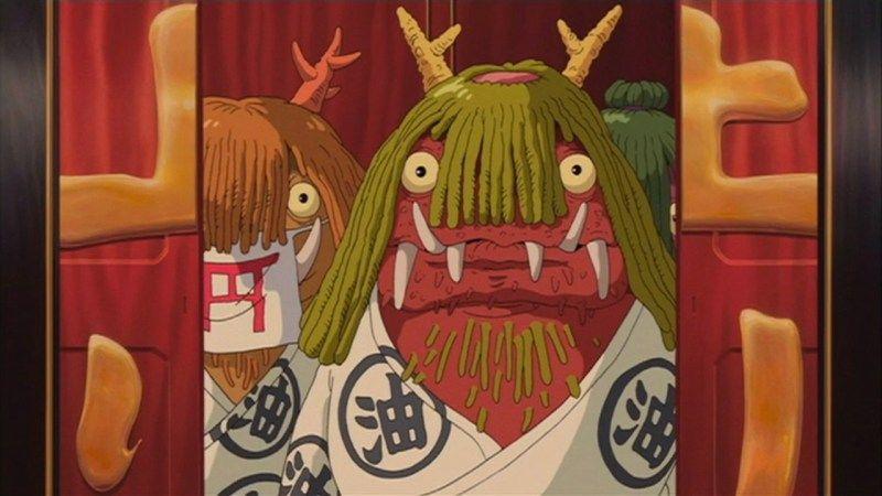 Spirited Away 2001 Animation Screencaps 千と千尋の神隠し スタジオジブリ キャッスル