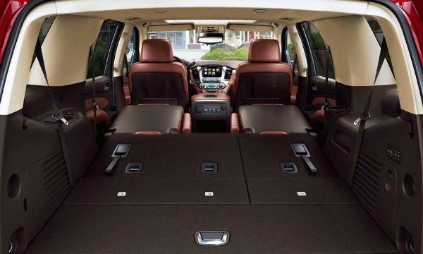 2016 Chevrolet Suburban Cargo Space Con Imagenes Fila Plegables