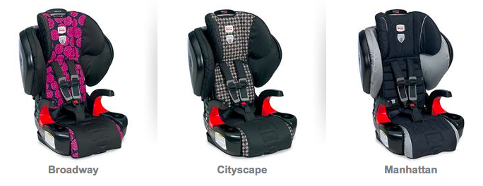 Britax Pinnacle 90 Booster Car Seat Color Options