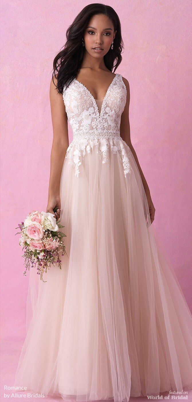 Romance by Allure Bridals Fall 2018 Wedding Dresses | Pinterest ...