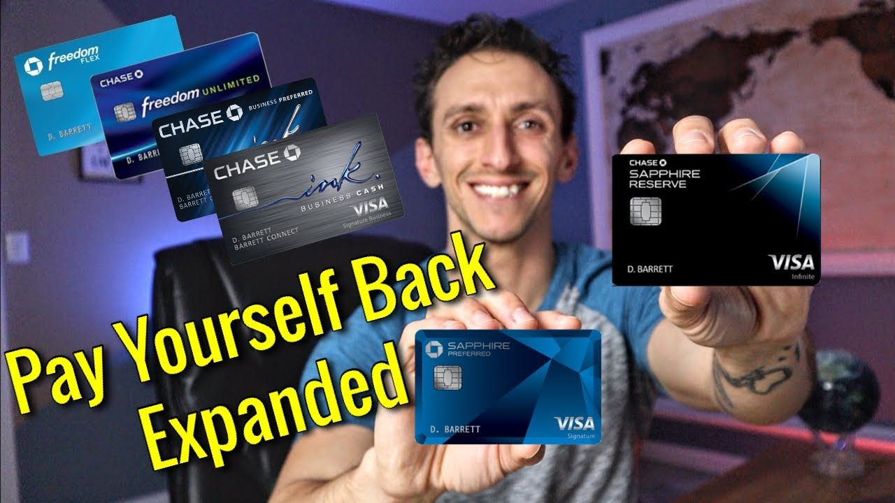 Chase Pay Yourself Back Extended Expanded Https Youtu Be 6qo4lj783ge Expand Chase Your Back