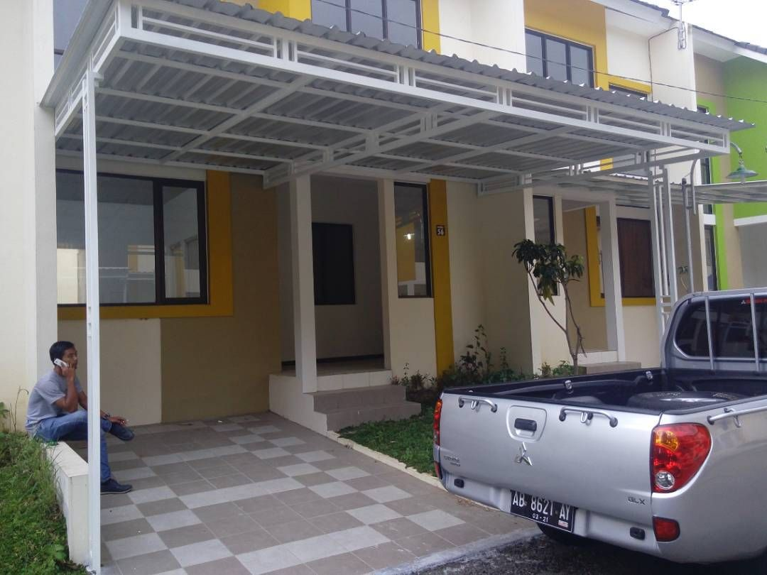 Contoh Atap Baja Ringan Rumah Minimalis Model Kanopi Terbaru