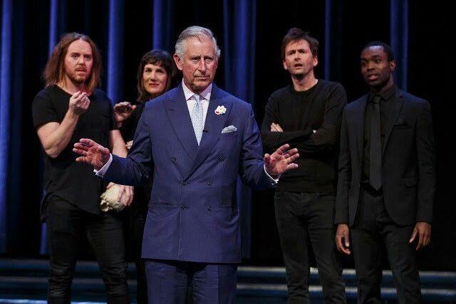 David and Prince Charles