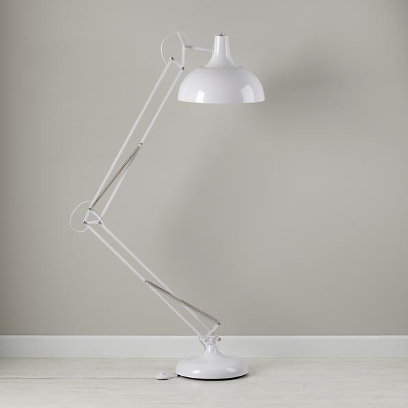 Kids Lighting: Giant White Floor Lamp | The Land of Nod | playroom ...