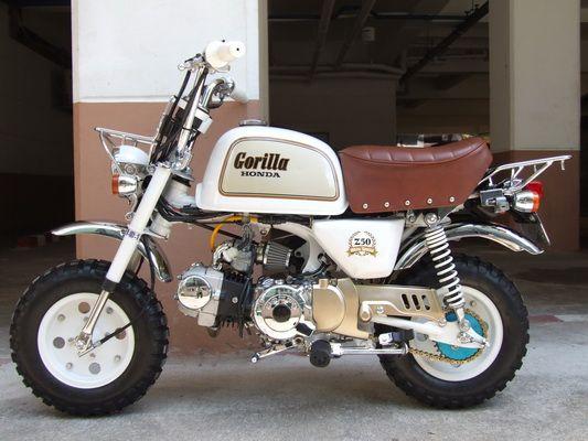 Honda Gorilla Honda Mini Bike Honda Bikes