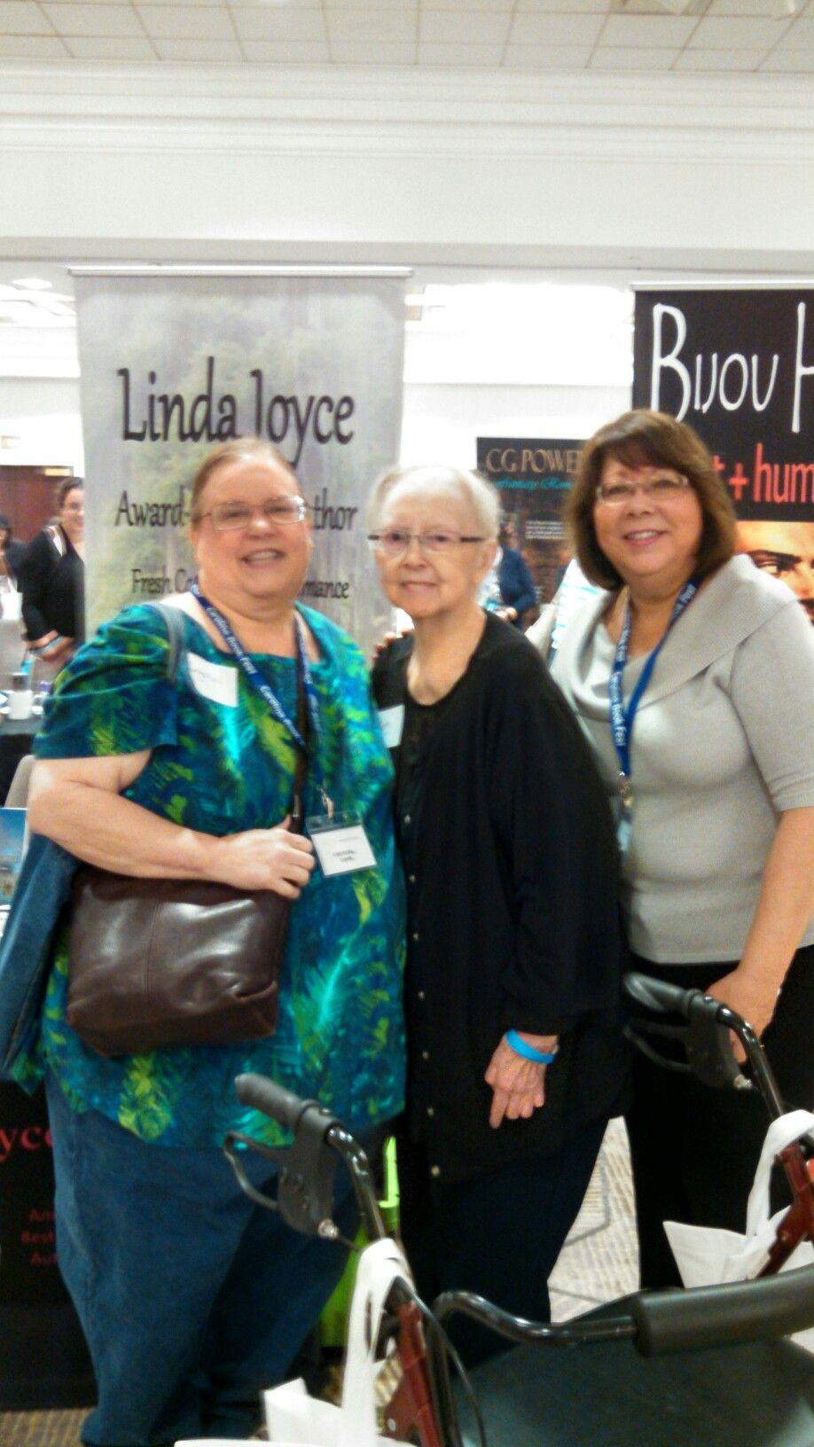 Linda Joyce, Crystal & Betty at North Carolina Book Festival 2016