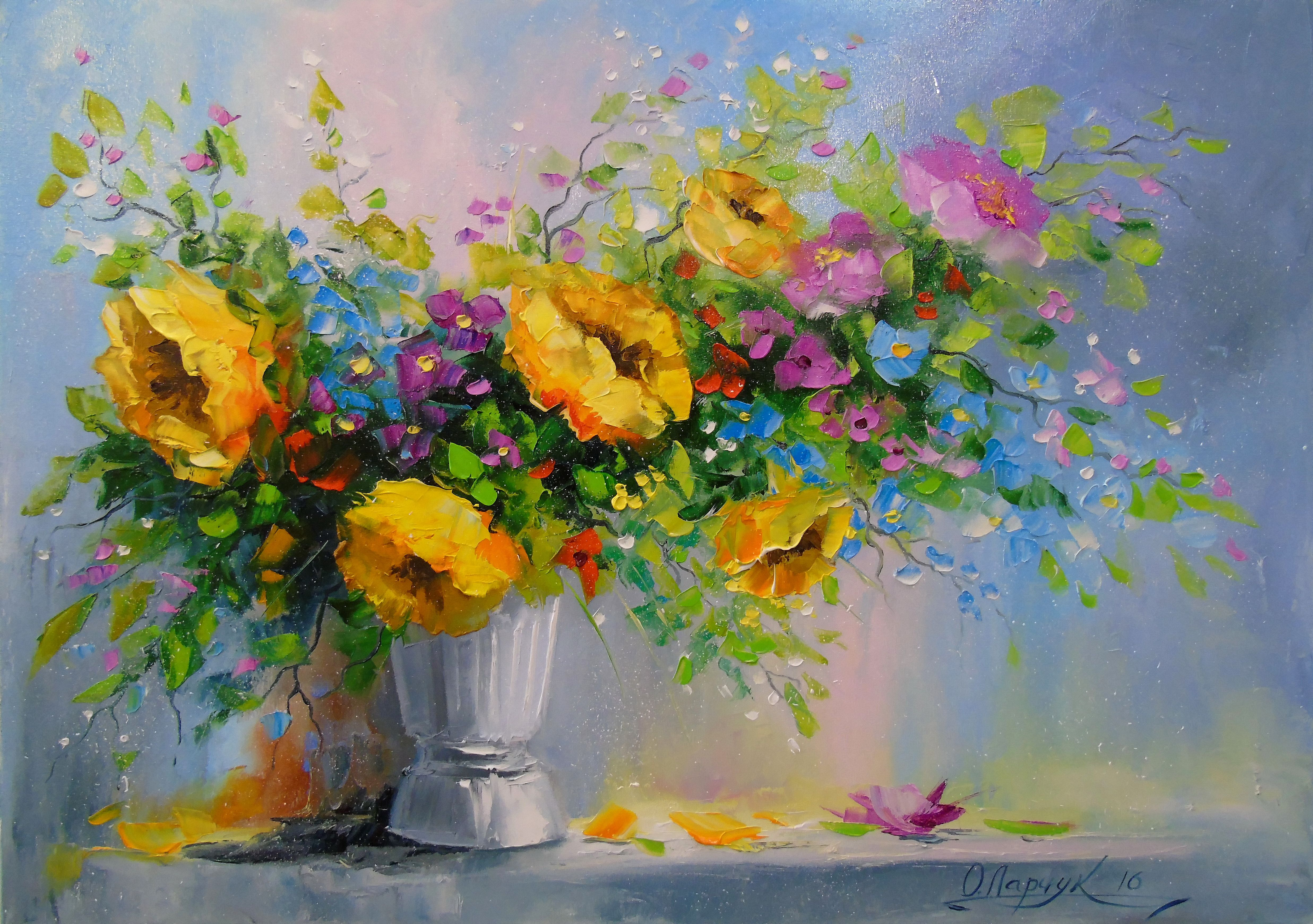 View Bouquet Of Yellow Flowers By Olha Darchuk. Browse