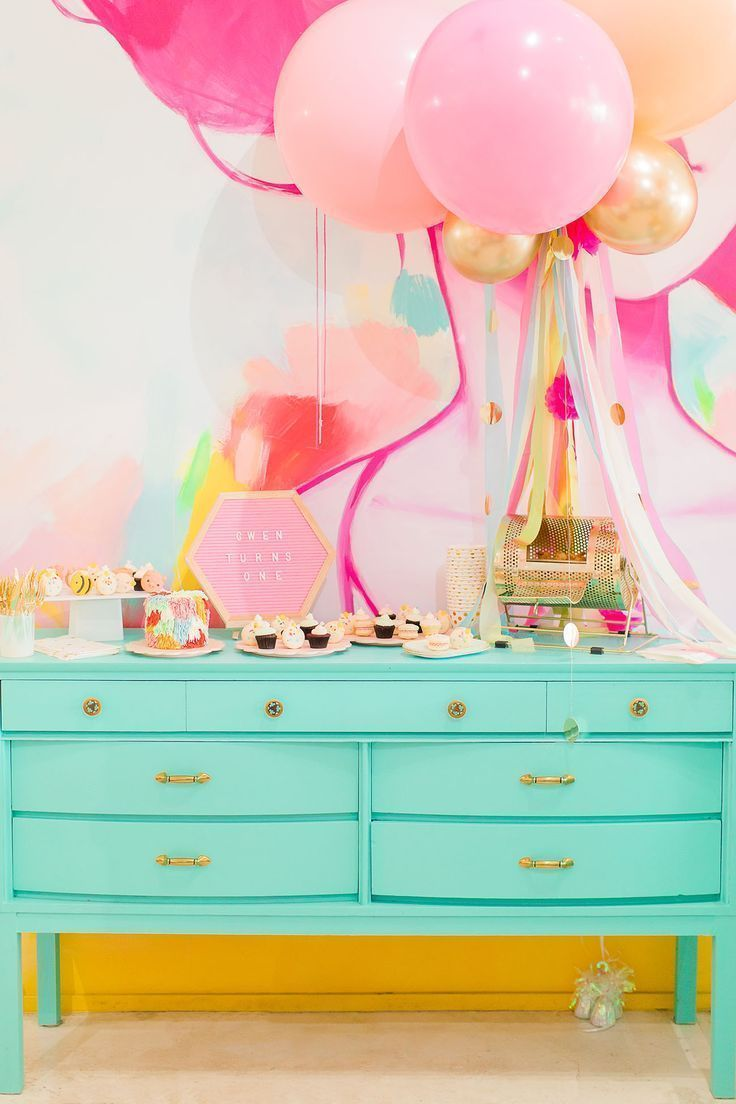 Gwen Turns One + Her First Birthday Party Ideas First