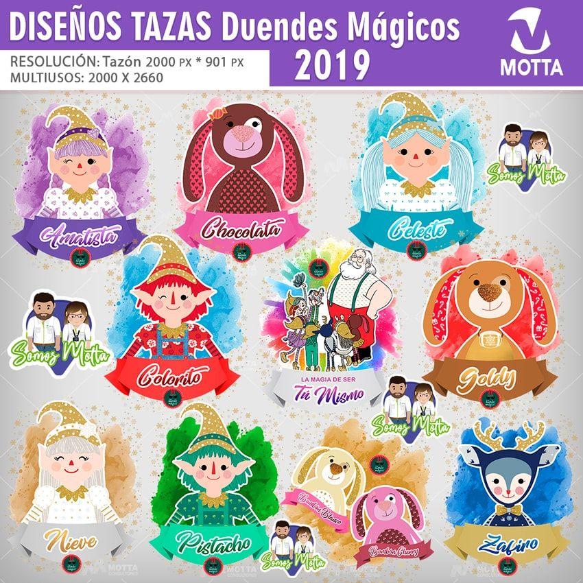 Plantillas Para Sublimar Tazones Duendes Magicos 2019 Duendes Magico Duendes Magico