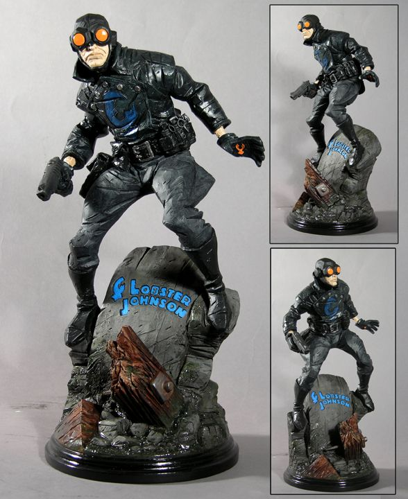 lobster johnson toys pinterest hero comic and mike