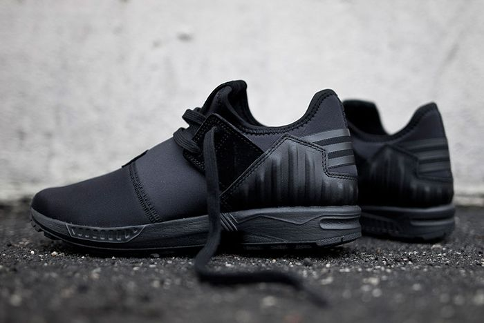 newest collection cd4ba 218d3 adidas Zx Flux Plus (Core Black) - Sneaker Freaker | Adidas ...