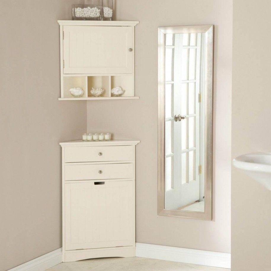 Small Corner Cabinet Bathroom With
