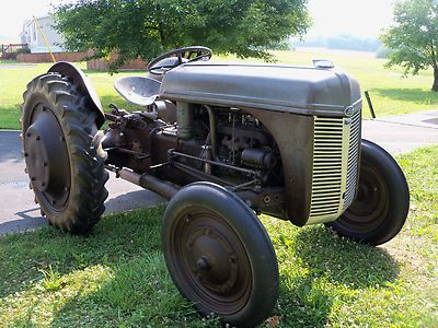 1940 Ford 9n Original Tractor (This might be a 1940 but the
