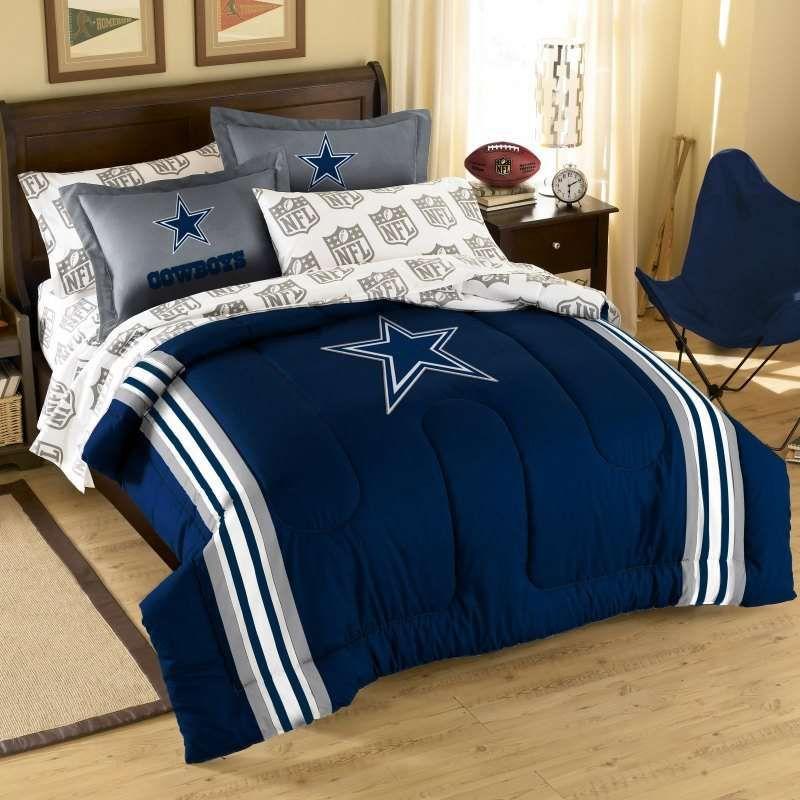 Dallas-cowboys-nfl-comforter-set Devs Room Dallas