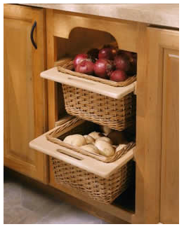 Jeriu0027s Organizing U0026 Decluttering News: Bins, Baskets And Racks For Fruits  And Veggies