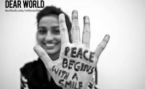 Sept. 20 2012 is International World Peace Day!