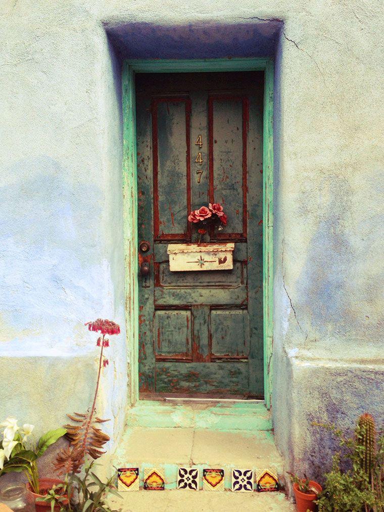 Tucson Barrio Viejo Beautiful Doors Beautiful Doors Painting Tucson