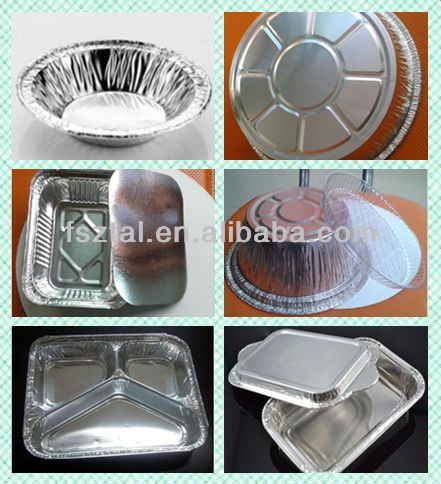 Heart Shaped Aluminum Foil Containers For Food Factory 0 0046