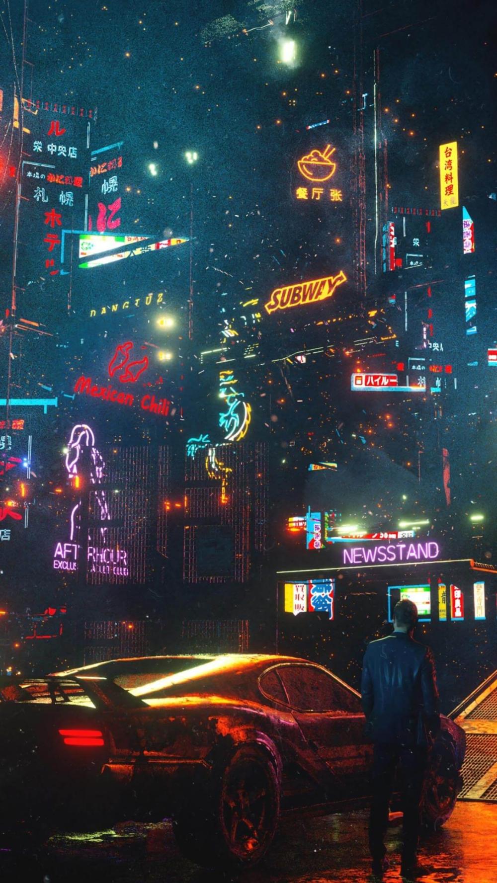 Cyberpunk Art Hd Phone Wallpapers Cyberpunk Aesthetic Cyberpunk Art Cyberpunk City