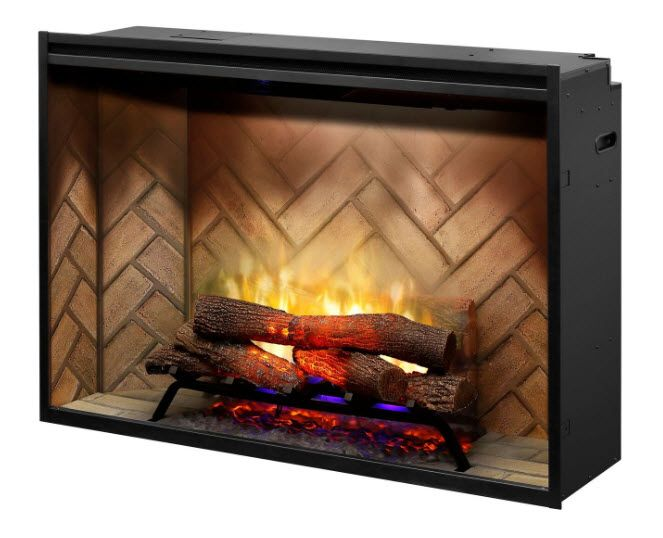 The 5 Most Realistic Electric Fireplaces In 2018 Built In Electric Fireplace Fireplace Inserts Electric Fireplace Insert