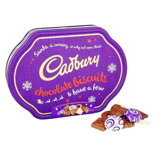 cadbury chocolate biscuits collection tin. Black Bedroom Furniture Sets. Home Design Ideas
