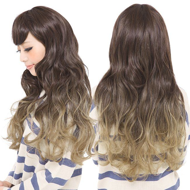 Hanako Korean Ulzzang Style Natural Wig Hair Extensions Ulzzang