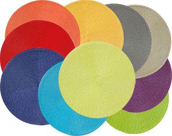 sets de table ronds - lot de 2 - becquet | chapeaux | pinterest