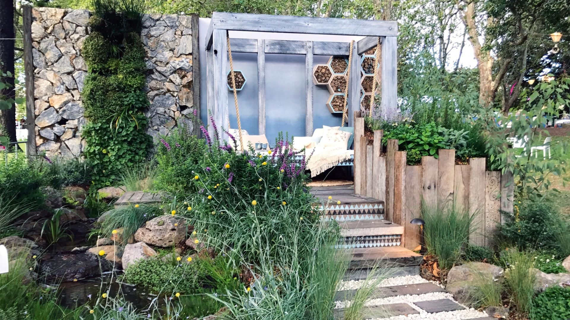 Best ideas from winner of the Melbourne Internationa Flower & Garden ...