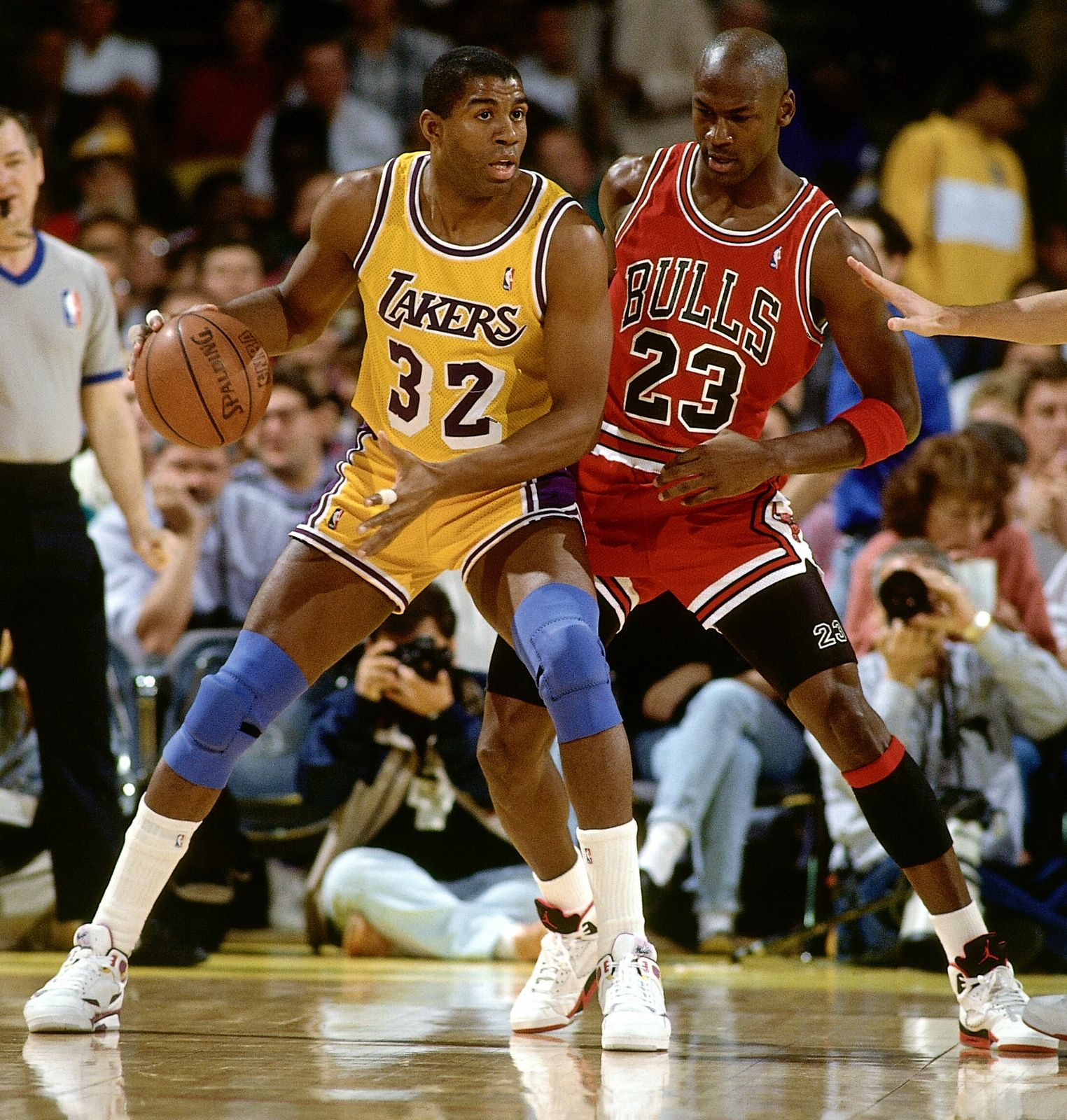 Magic Johnson Still Asks Michael Jordan for Free Sneakers