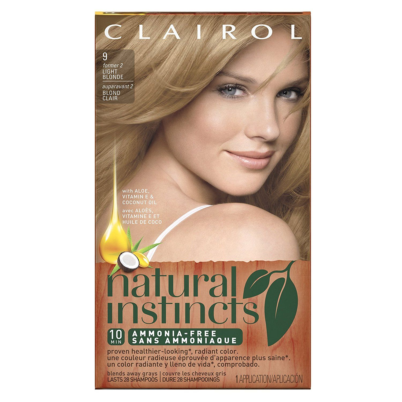Clairol Natural Instincts 9 2 Sahara Light Blonde Semi