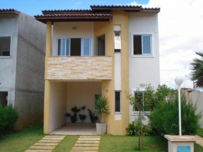 Casas De Dos Plantas Fachadas Casas Casas Pequenas Casas Modernas