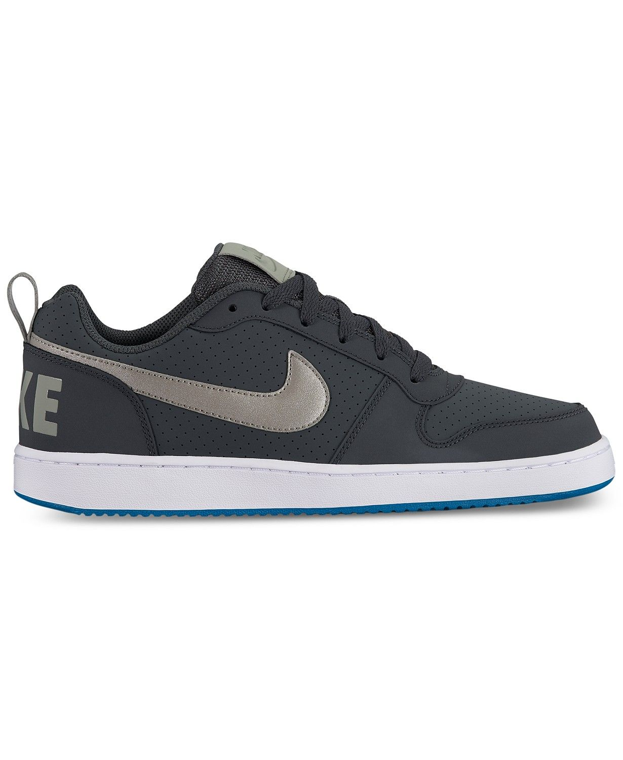 finest selection 0456a a6389 Nike Men s Court Borough Low Premium Casual Sneakers from Finish Line    macys.com