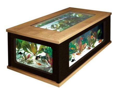 Aquatlantis Aquarium Table Aquatable 300 Litres Table Basse Aquarium Meuble Aquarium Table Basse Design