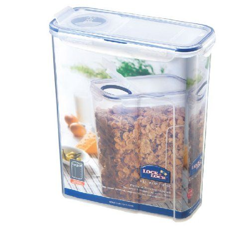 Locklock 1456fluid Ounce Slender Container With Flip Lid 182 Cup