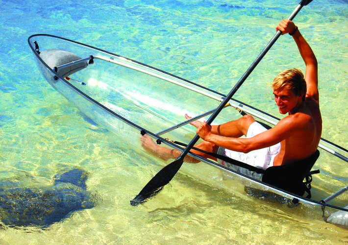 The Glass Bottom Kayak & Snorkeling Tour  in Key West, Florida is an Amazing Adventure!