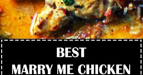 Marry Me Chicken. Famous skillet chicken in a sundried tomato parmesan cream sauce with fresh basil. It will definitely inspire marriage pro... #marrymechicken Marry Me Chicken. Famous skillet chicken in a sundried tomato parmesan cream sauce with fresh basil. It will definitely inspire marriage pro... #marrymechicken