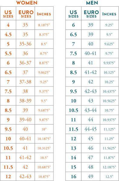 foot size foot length measurement your shoes