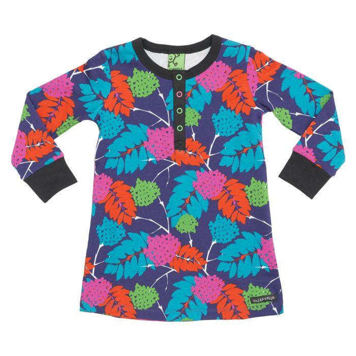 Villervalla -mekko Rowanberry, 29,95€. Upea Villervalla Rowanberry mekko. 2 väriä.  Koot 86-140. Skidi, 3.krs.