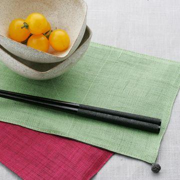 マツ勘/上部布巻き箸 黒 1890yen 若狭の塗り箸でテーブル周りを華やかに